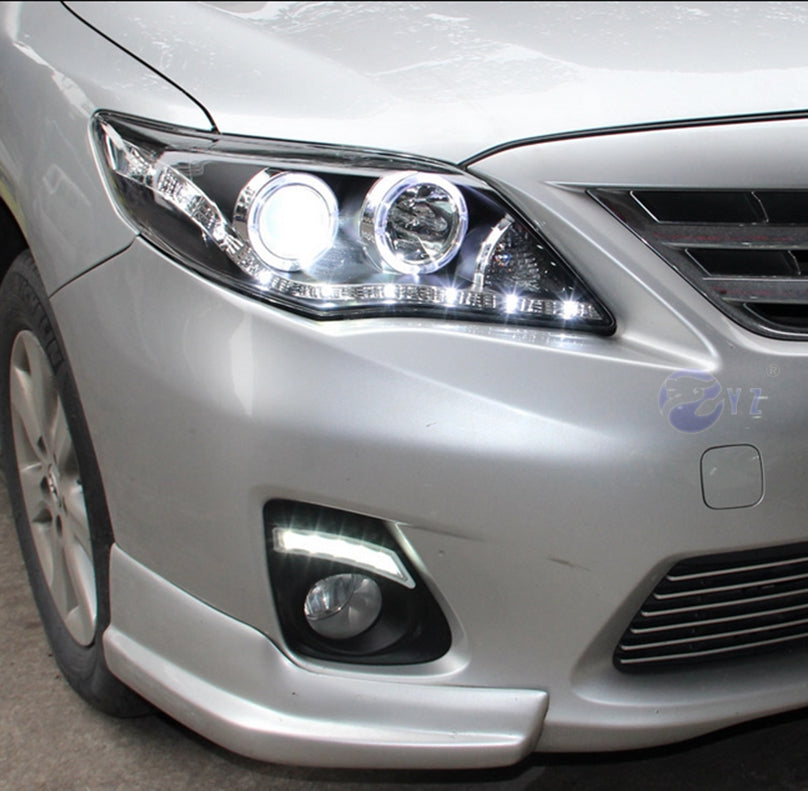 Daytime Running DRL Fog Lights For Toyota Corolla 2011 2012 2013 - Any Car Accessories