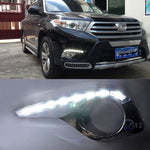 Daytime Running DRL Fog Lights For Toyota Highlander 2012 2013 2014 - Any Car Accessories