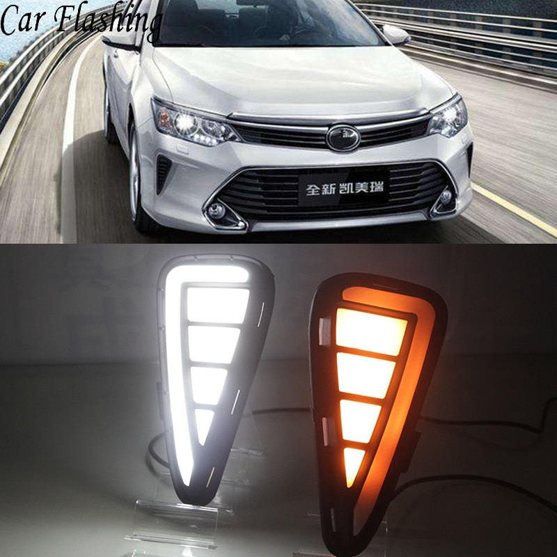 Daytime Running DRL Fog Lights For Toyota Camry 2015 2016 2017 - Any Car Accessories