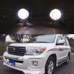 Daytime Running DRL Fog Lights For Toyota Land Cruiser FJ200 LC200 2012 2013 2014 2015 - Any Car Accessories