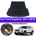 Trunk Mat Carpet Cover For Ford Explorer 2011 - 2015 2016 2017 2018 2019,  - Any Car Accessories