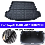 Trunk Mat Carpet Cover For Toyota C-HR CHR 2017 2018 2019