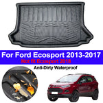 Trunk Mat Carpet Cover For Ford Ecosport 2013 2014 2015 2016 2017,  - Any Car Accessories