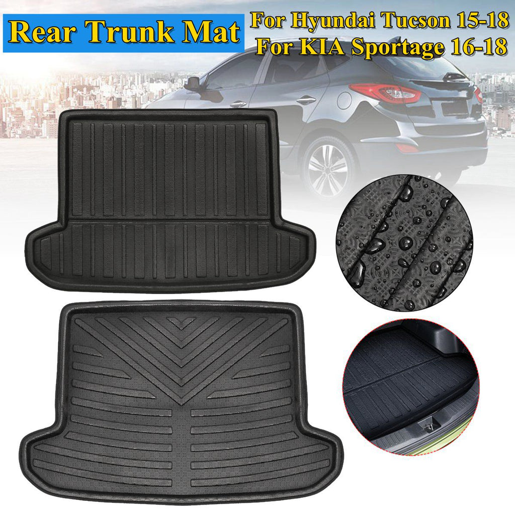 Trunk Mat Carpet Cover For KIA Sportage QL for HYUNDAI Tucson 2016 2017 2018