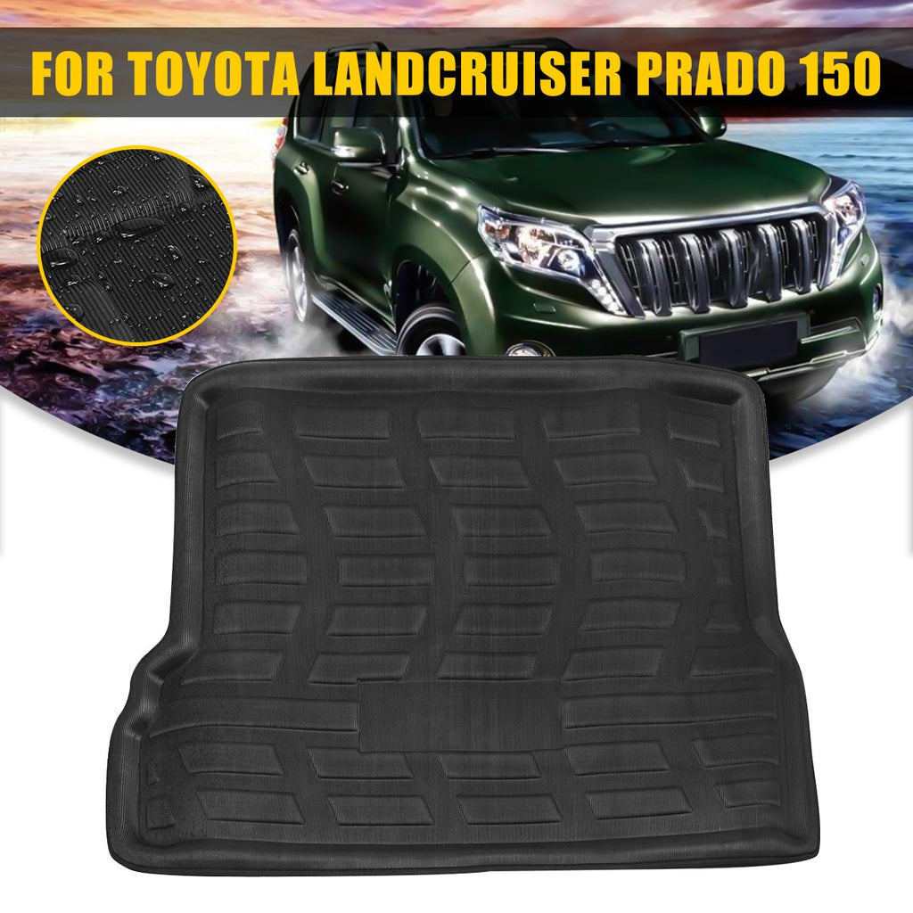 Trunk Mat Carpet Cover For Toyota Landcruiser Prado 150