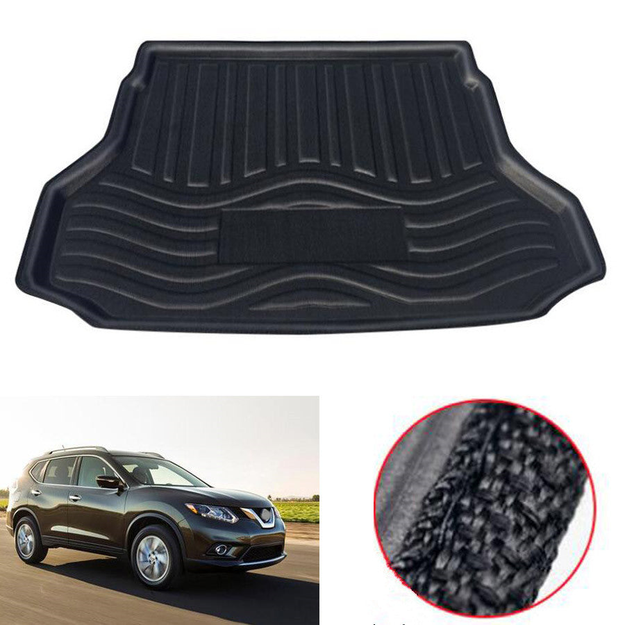 Trunk Mat Carpet Cover For Nissan Rogue / X-Trail 2014-2018 Styling