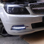 Daytime Running LED Fog Lights For Mercedes Benz W204 C180 C200 C260 C250 C300 2008 2009 2010 - Any Car Accessories