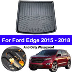 Trunk Mat Carpet Cover For Ford Edge 2015 2016 2017 2018,  - Any Car Accessories