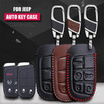Leather Key Remote Cover For JEEP Cherokee / Grand Cherokee 2014,  - Any Car Accessories