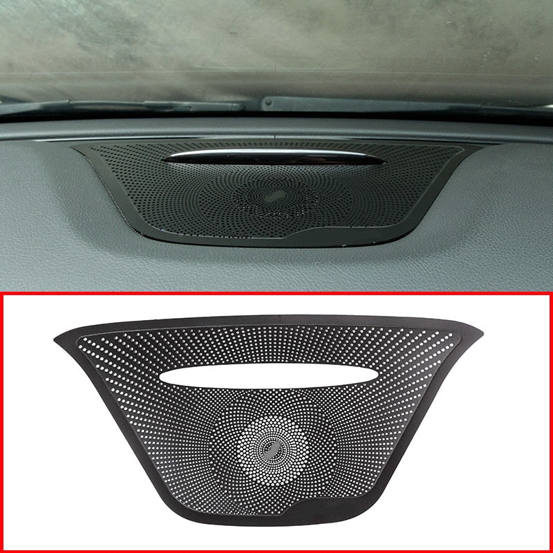 Stainless Dashboard Speaker Cover For Mercedes-Benz GLA X156 CLA C117 A Class W176