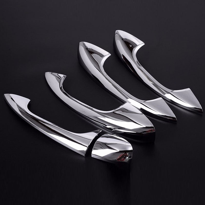 Chrome Door Handle Covers For Mercedes Benz W205 CClass C200 C180 GLC260 2015 2016,  - Any Car Accessories