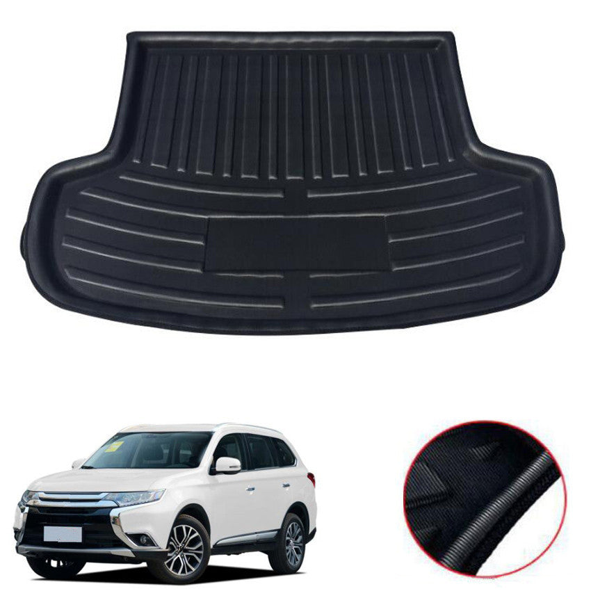 Trunk Mat Carpet Cover For Mitsubishi Outlander 5 Seats 2013-2017