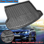 Trunk Mat Carpet Cover For Nissan Qashqai / for Dualis J11 2007 2008 2009-2017
