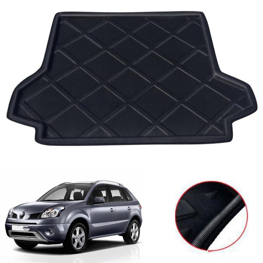 Trunk Mat Carpet Cover For Renault Koleos 2006-2017