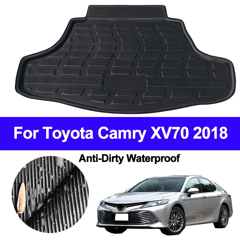 Trunk Mat Carpet Cover For Toyota Camry Altis XV70 2018