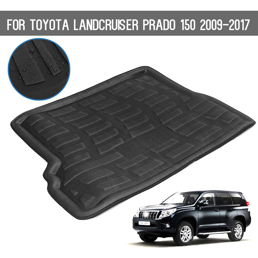 Trunk Mat Carpet Cover For Toyota Landcruiser Prado150 2009-1017