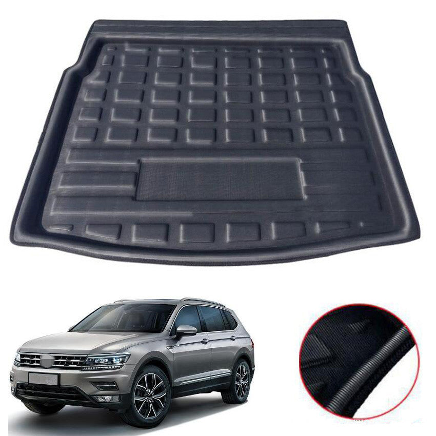 Trunk Mat Carpet Cover For Volkswagen VW Tiguan L 5 Seats 2016 2017 2018