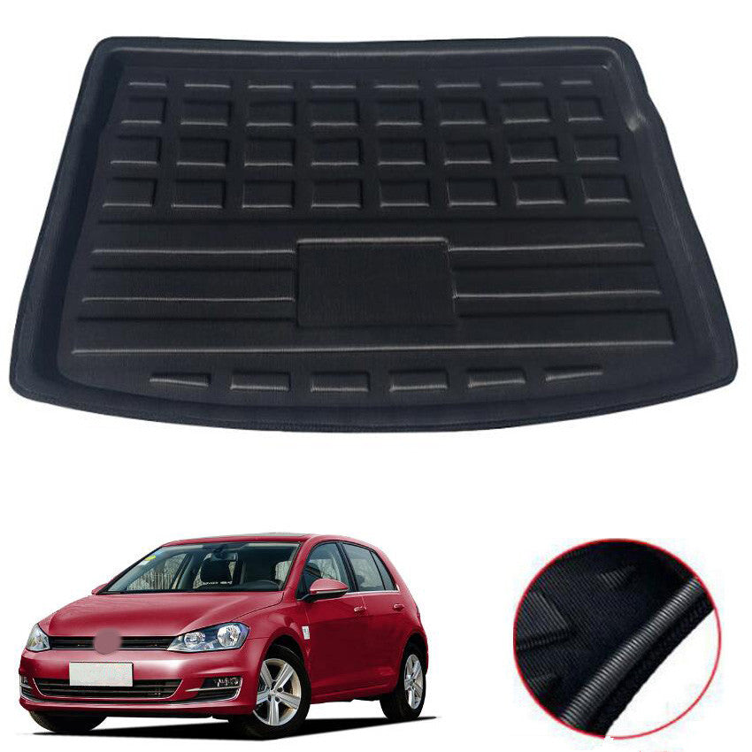 Trunk Mat Carpet Cover For Volkswagen VW Golf 7 2013-2018