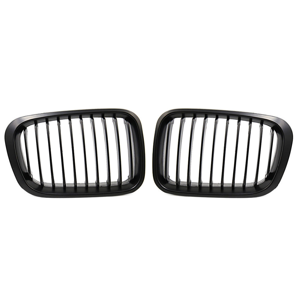 Racing Grille For BMW E46 320i 323i 325i 328i 330i 1998 - 2001, Exterior - Any Car Accessories