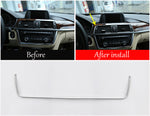 Matte Chrome AC Vent Outlet Frame For BMW 3 4 Series F30 F34 428i 318i 320li 328li 2013-2017