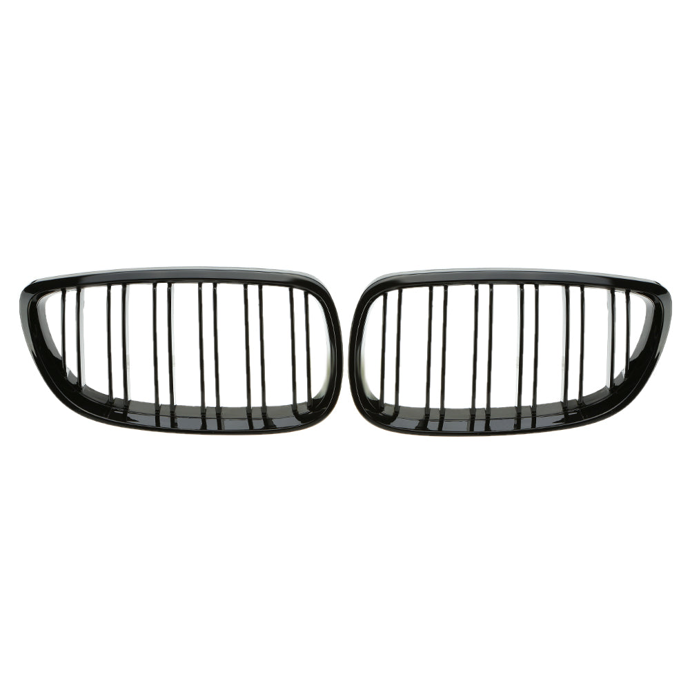 Grille for BMW E92 2006-2009 Gloss Black Front Grille, Exterior - Any Car Accessories