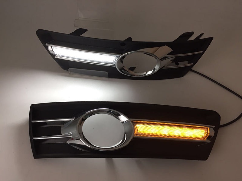Daytime Running DRL Fog Lights For VW Passat CC 2009 2010 2011 2012 2013 - Any Car Accessories