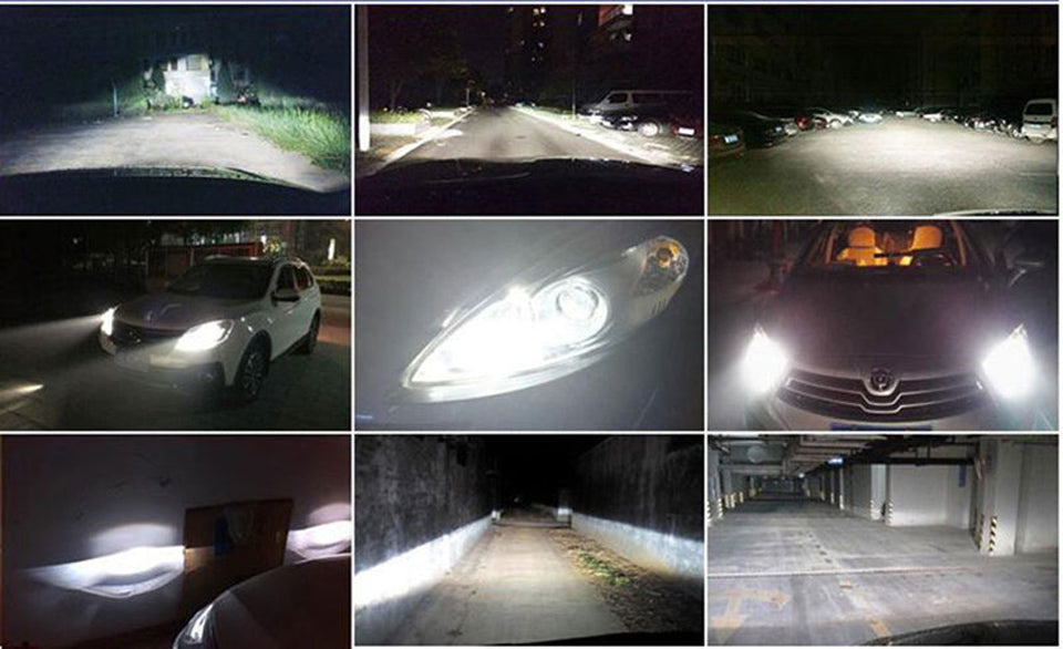 Super bright Led Lights  H8 H11 H7 H4 H1 LED Headlights Cool white 72W 8000LM For, Headlights, Lamp, lights - Any Car Accessories