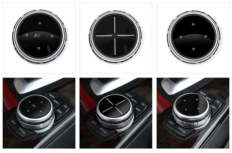 BMW Button Cover Emblem For BMW X1 X3 X6 M3 M5 E39 E60 E46 E90 F30, exterior - Any Car Accessories