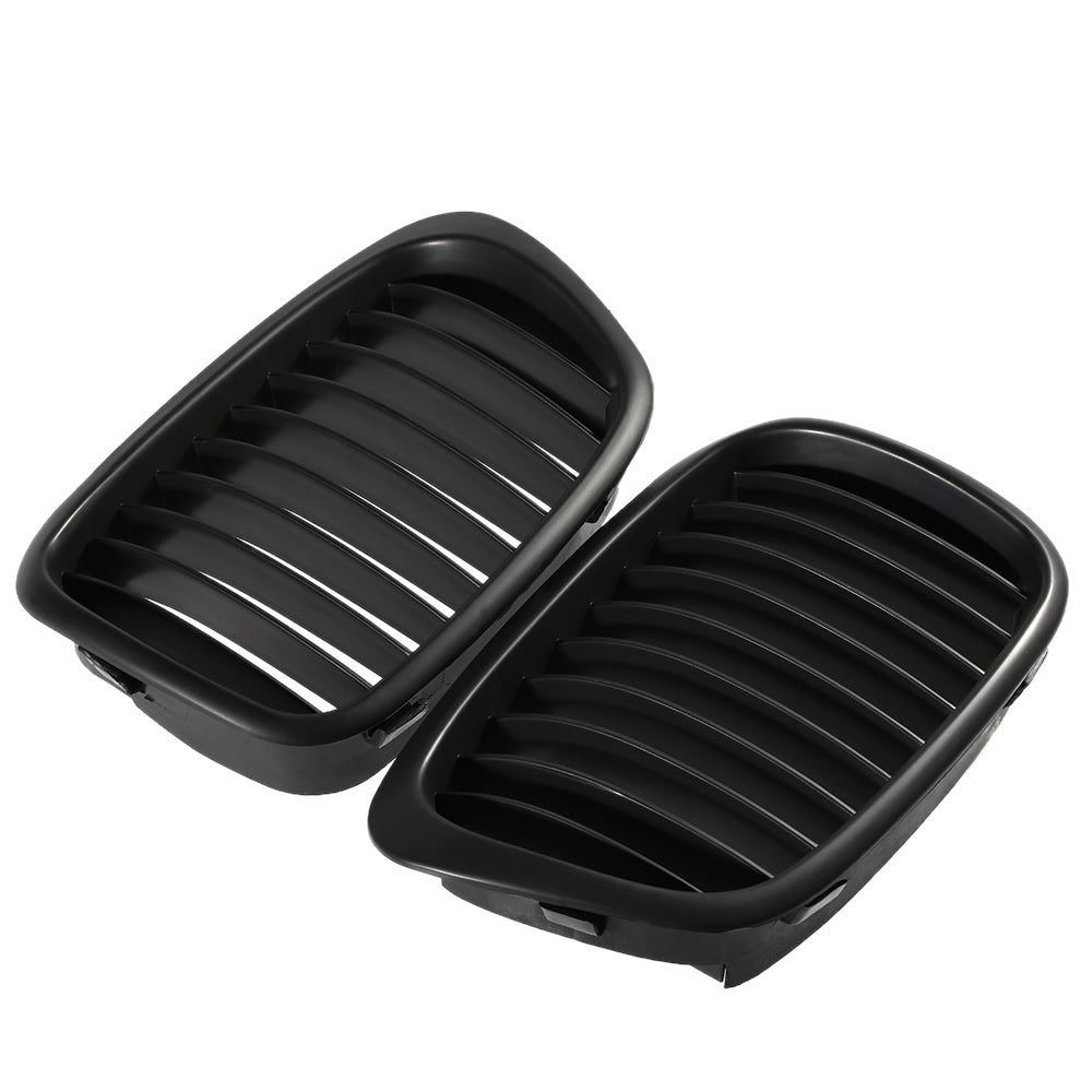 Matte Black Grilles BMW E39 5 Series 1998-2003, Exterior - Any Car Accessories