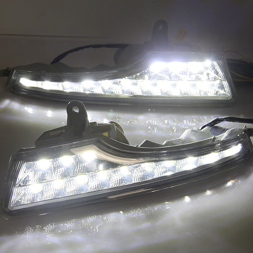 Daytime Running LED Fog Lights For Nissan Teana Altima 2013 2014 2015 - Any Car Accessories