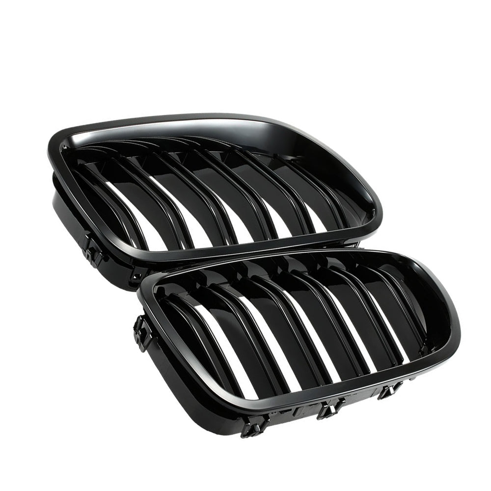 Double Line Grille  for BMW F10 F11 F18 5 Series M5, Exterior - Any Car Accessories