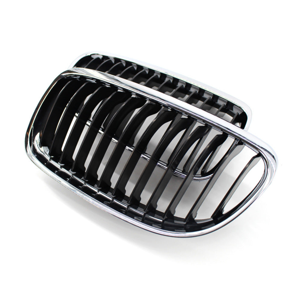 Grille For BMW E90 2009-2011 Chrome Silver Car Front Replacement, Exterior - Any Car Accessories