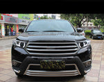 LED DRL Bi-xenon Headlights For Toyota Highlander 2012 2013 2014 - Any Car Accessories