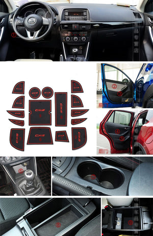 Antislip Rubber Door Mat For Mazda CX-5 2013-2014,  - Any Car Accessories