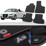 Premium Fabric Nylon Floor Mats Carpet For  Audi A3 2008-2015 - Any Car Accessories