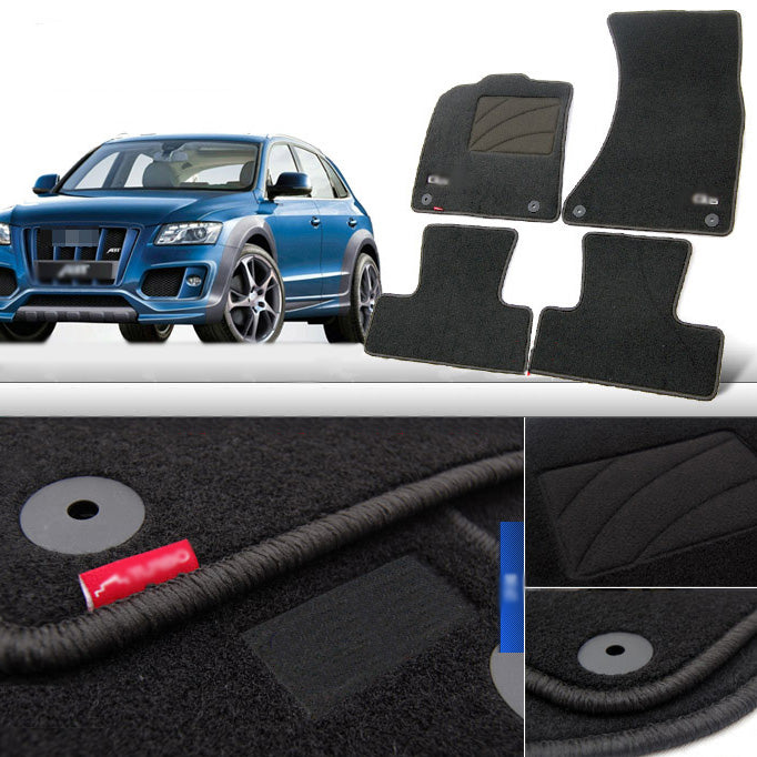 Fabric Carpet Nylon Floor Mats For Audi Q5 2010-2015 - Any Car Accessories