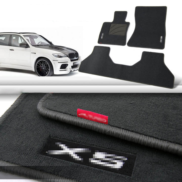 Premium Fabric Nylon Floor Mats Carpet For BMW X5 2002-2015,  - Any Car Accessories