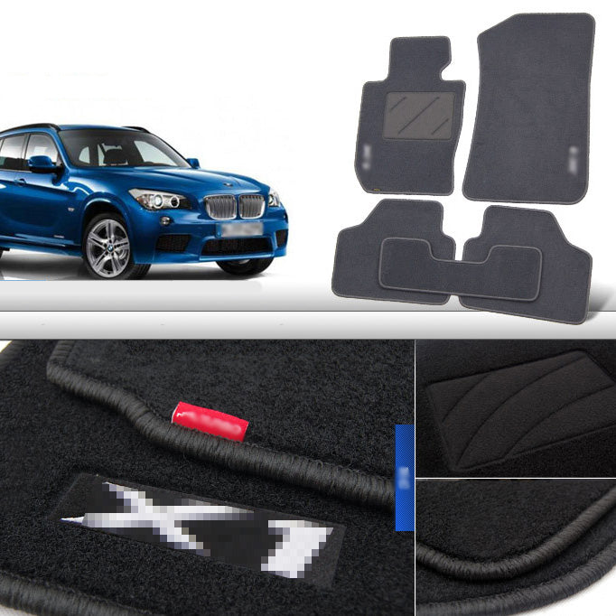 Premium Fabric Nylon Floor Mats Carpet For For BMW X1 E84,  - Any Car Accessories