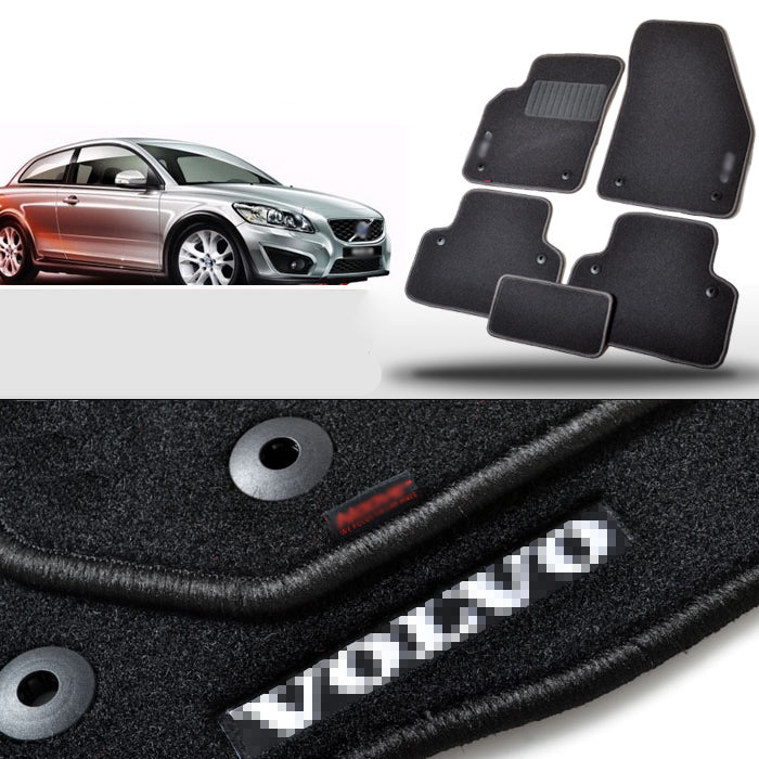 Fabric Carpet Nylon Floor Mats For Volvo C30 2007,  - Any Car Accessories