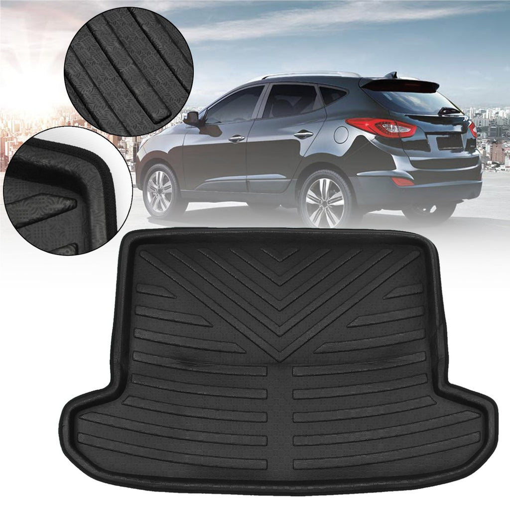 Trunk Mat Carpet Cover For KIA Sportage for Hyundai Tucson 2016~2018