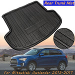 Trunk Mat Carpet Cover For Mitsubishi Outlander 2013~2017