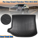 Trunk Mat Carpet Cover For Jeep Grand Cherokee WK2 2012-2018