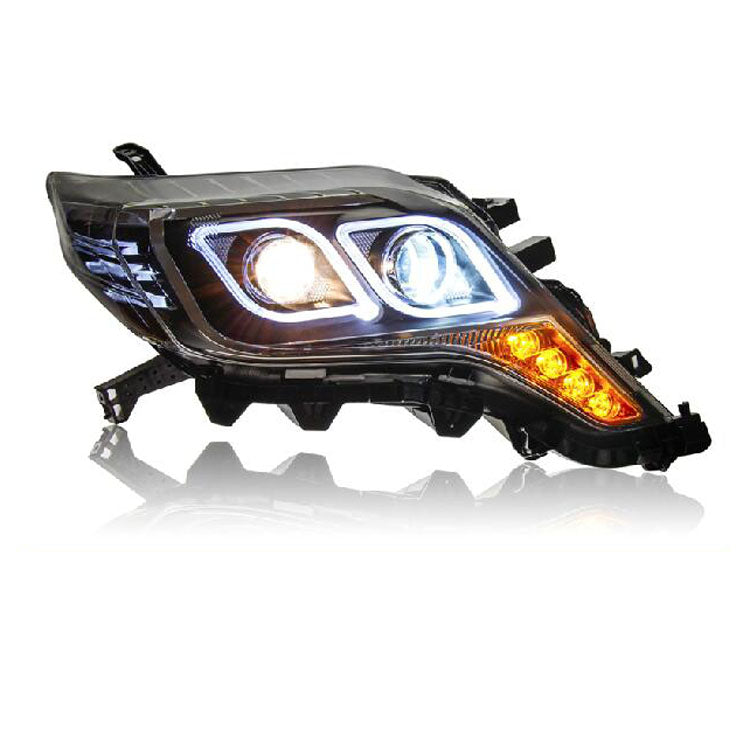 LED DRL Bi-xenon Headlights For Toyota Prado 2014-2015,  - Any Car Accessories