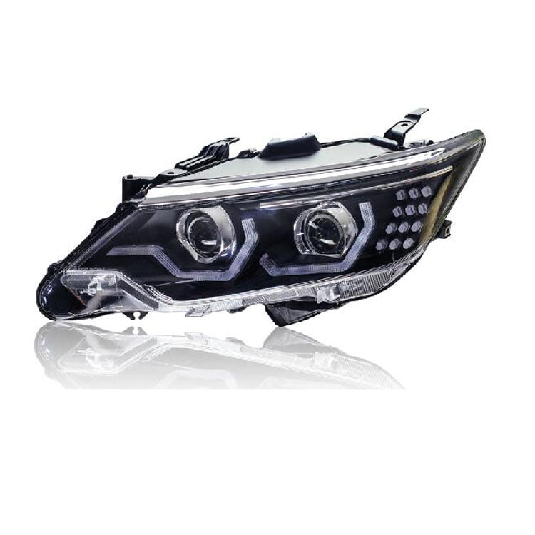 LED DRL Bi-xenon Headlights For Toyota Camry 2015 - Any Car Accessories