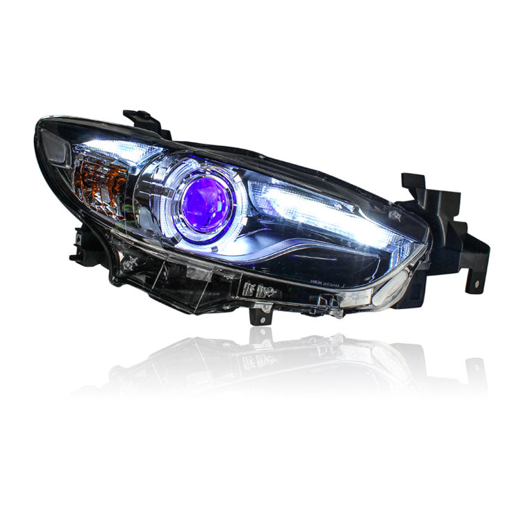 LED DRL Bi-xenon Headlights For  Mazda 6 Atenza 2014-2015 - Any Car Accessories