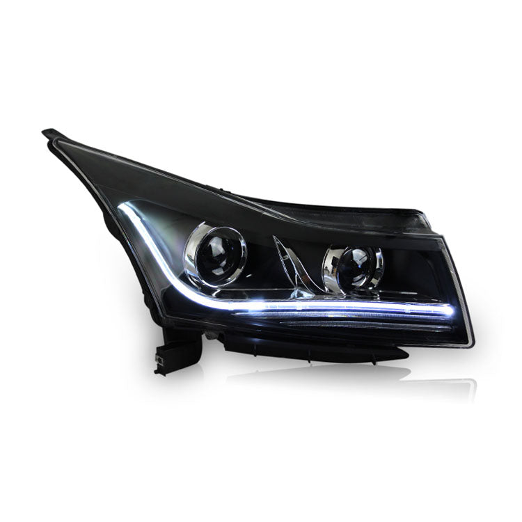 LED DRL Bi-xenon Headlights For Chevrolet Cruze 2009-2014,  - Any Car Accessories