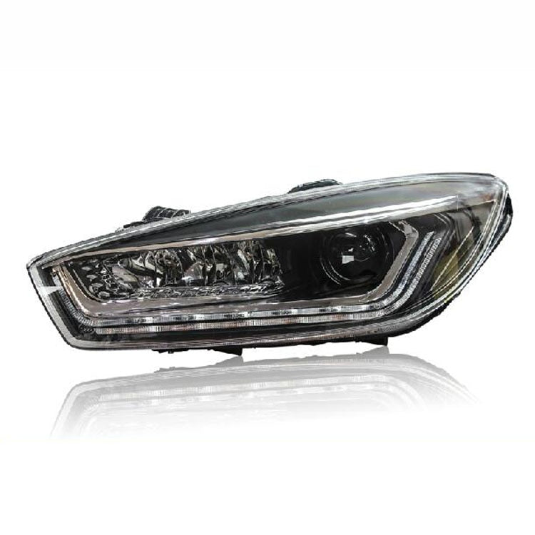 LED DRL Bi-xenon Headlights For Chevrolet Cruze 2015-2016 - Any Car Accessories