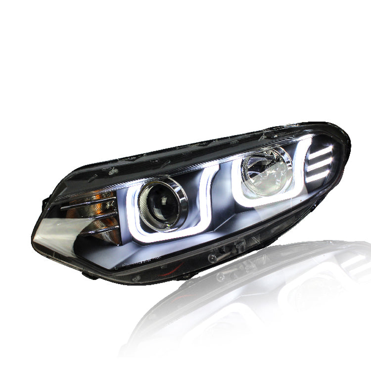 LED DRL Bi-xenon Headlights For Ford Ecosport 2013 - Any Car Accessories