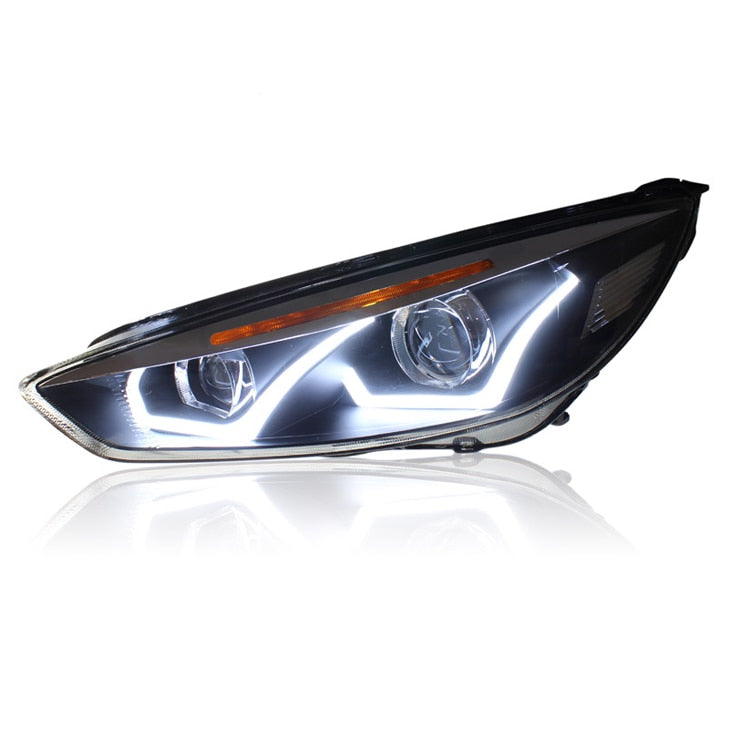 LED DRL Bi-xenon Headlights For Ford Focus 2015 - Any Car Accessories