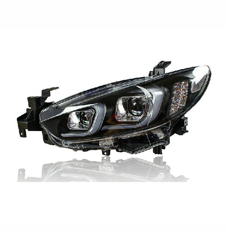 LED DRL Bi-xenon Headlights For Mazda 6 Atenza 2014 - Any Car Accessories